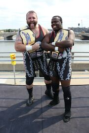Mad Dog & Jon West Tag Team Champions
