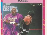 1995 WWF Wrestling Trading Cards (Merlin) Mabel (No.146)