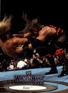 2003 WWE WrestleMania XIX (Fleer) Kane 32
