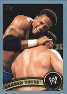 2011 WWE (Topps) Darren Young 83