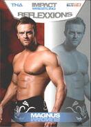 2012 TNA Impact Wrestling Reflexxions Trading Cards (Tristar) Magnus 37