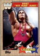 2017 WWE Heritage Wrestling Cards (Topps) Bret Hart 71