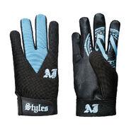 AJ Styles Carolina Blue Replica Gloves