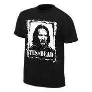 Daniel Bryan Yes is Dead Youth Authentic T-Shirt