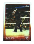 2015 Chrome WWE Wrestling Cards (Topps) El Torito 71