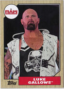 2017 WWE Heritage Wrestling Cards (Topps) Luke Gallows 28
