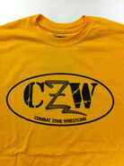 CZW Gold Logo T-Shirt
