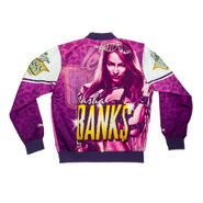 Sasha Banks Retro Fanimation Chalk Line Jacket