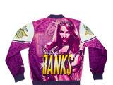 Sasha Banks Retro Fanimation Chalk Line Jacket