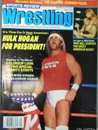 Sports Review Wrestling - September 1987