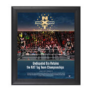 The Undisputed Era NXT TakeOver Philadelphia 2018 15 x 17 Framed Plaque