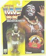 WWF Hasbro 1992 Kamala Yellow