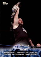 2018 WWE Road to Wrestlemania Trading Cards (Topps) Kevin Owens 86