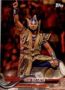 2018 WWE Wrestling Cards (Topps) Gran Metalik 34