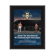 Andrade Almas NXT TakeOver Philadelphia 2018 10 x 13 Commemorative Photo Plaque