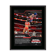 Asuka Royal Rumble 2018 10 x 13 Commemorative Photo Plaque