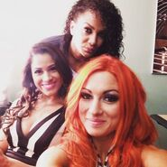 Becky, Nia, and Dasha