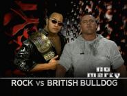 The Rock vs. British Bulldog No Mercy 1999