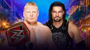 WM 34 Lesnar v Reigns