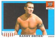 2008 WWE Heritage IV Trading Cards (Topps) Randy Orton 41