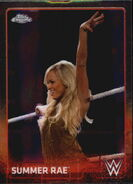 2015 Chrome WWE Wrestling Cards (Topps) Summer Rae 68