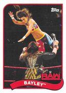 2018 WWE Heritage Wrestling Cards (Topps) Bayley 9