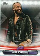 2019 WWE Raw Wrestling Cards (Topps) Mike Kanellis 84