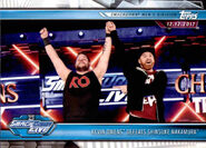2019 WWE Road to WrestleMania Trading Cards (Topps) Kevin Owens 76