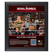 Bayley Royal Rumble 2020 15x17 Limited Edition Plaque
