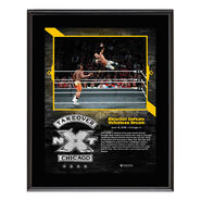 Ricochet NXT TakeOver Chicago 10 x 13 Plaque