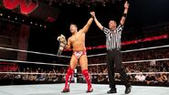 The miz wins the wwe Championship