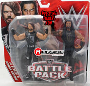 WWE Battle Packs 45 AJ Styles & Roman Reigns