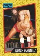 1991 WCW (Impel) Dutch Mantell 78