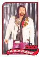 2018 WWE Heritage Wrestling Cards (Topps) The Brian Kendrick 79