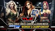 Charlotte Flair vs. Becky Lynch vs. Asuka TLC 2018