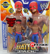 WWE Battle Packs 29 Los Matadores