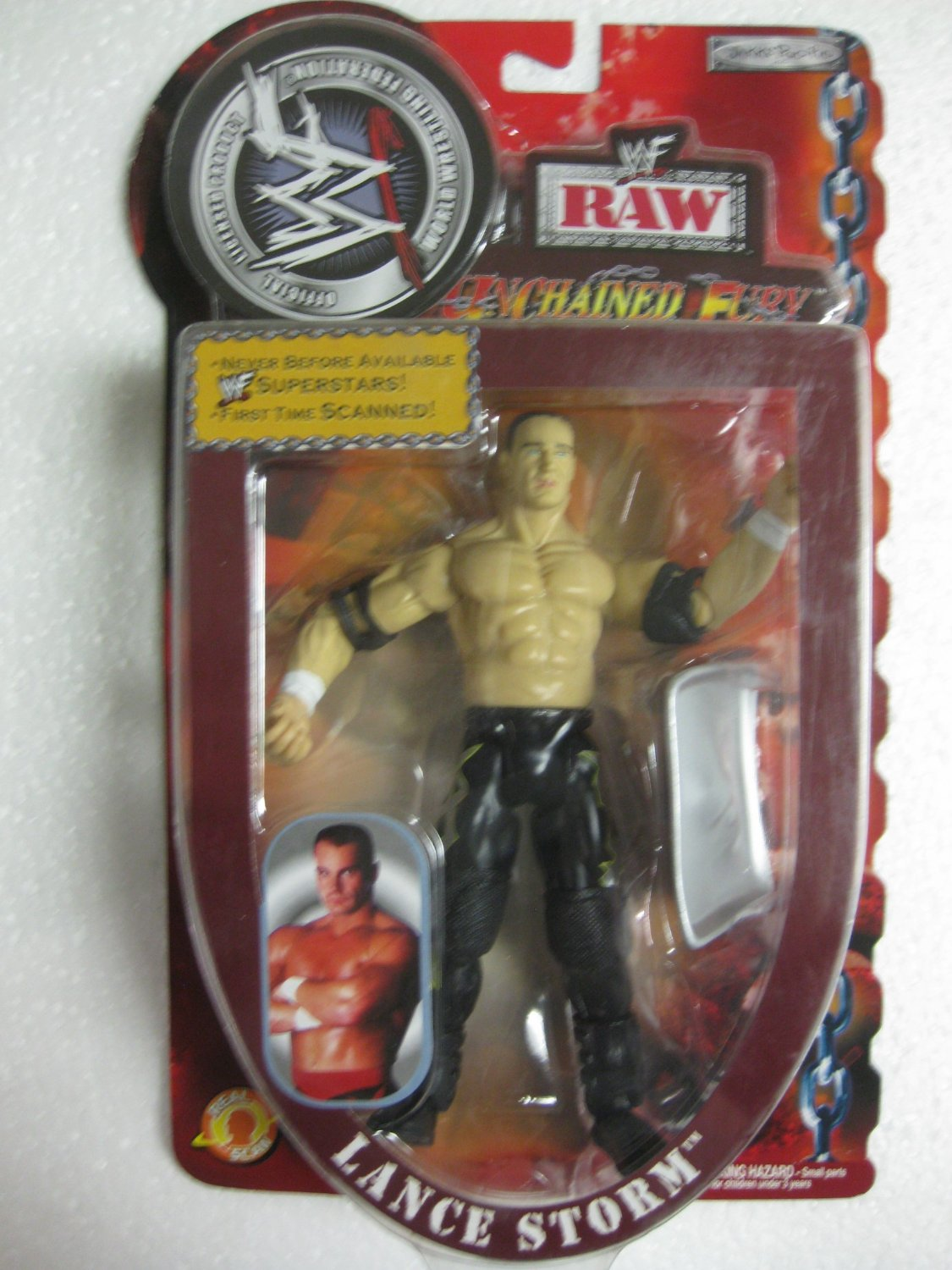 Series 1 RAW Booker T WWF//WWE UNCHAINED FURY