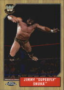 2008 WWE Heritage III Chrome Trading Cards Jimmy Snuka 76