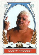 2008 WWE Heritage IV Trading Cards (Topps) Dusty Rhodes 89