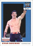2008 WWE Heritage IV Trading Cards (Topps) Evan Bourne 16