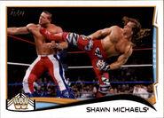2014 WWE (Topps) Shawn Michaels 109