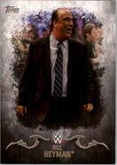 2016 Topps WWE Undisputed Wrestling Cards Paul Heyman 25