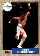 2017 WWE Heritage Wrestling Cards (Topps) Kofi Kingston 26