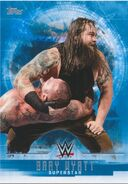 2017 WWE Undisputed Wrestling Cards (Topps) Bray Wyatt 6