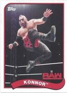 2018 WWE Heritage Wrestling Cards (Topps) Konnor 115