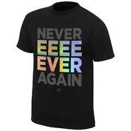 Chris Jericho Never Ever Again T-Shirt
