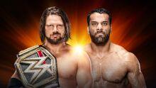 Clash of Champions 2017 AJ Styles vs. Jinder Mahal