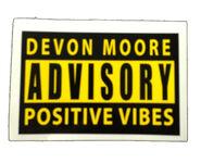 Devon Moore Advisory Decal