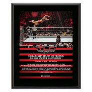 Ronda Rousey TLC 2018 10 x 13 Commemorative Plaque