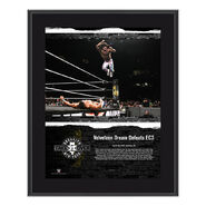 Velveteen Dream NXT TakeOver Brooklyn 2018 10 x 13 Commemorative Plaque